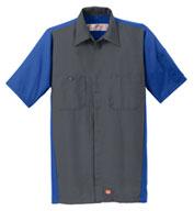 Red Kap Mens Crew Shirt