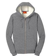 Cornerstone® Mens Heavyweight Sherpa-Lined Hooded Fleece Jacket