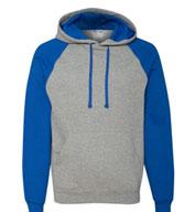 Jerzees Adult Nublend® Colorblocked Hooded Sweatshirt