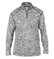 Badger Mens Blend 1/4 Zip Pullover