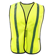 GSS Safety Adult Non-ANSI Safety Vest with Elastic