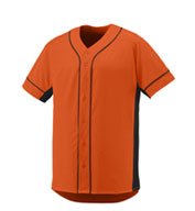 Augusta Youth Full Button Slugger  Jersey