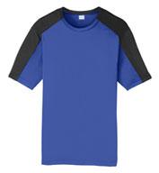 Sport-Tek® Adult PosiCharge® Competitor™ Sleeve-Blocked Tee