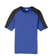 Sport-Tek® Youth PosiCharge® Competitor™ Sleeve-Blocked Tee