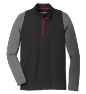 Nike Mens Dri-FIT Stretch 1/2-Zip Cover-Up