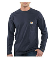 Carhartt Force Cotton Delmont Long Sleeve T-Shirt