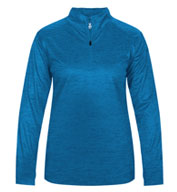 Badger Ladies Tonal Blend 1/4 Zip  Pullover