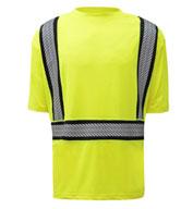 GSS Safety Class 2 Onyx Short Sleeve Shirt w/Segment Tape