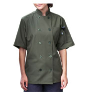 Uncommon Threads South Beach Short Sleeve Chef Coat
