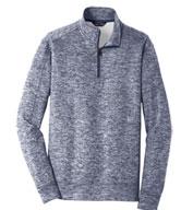 Sport-Tek® Adult PosiCharge® Electric Heather Fleece 1/4-Zip Pullover