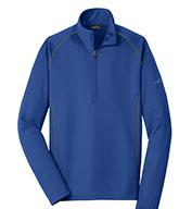 Eddie Bauer Mens 1/2-Zip Base Layer Fleece