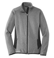 5c7481421df Eddie Bauer Ladies Full-Zip Heather Stretch Jacket - Design Online