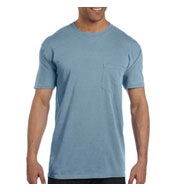 49a66dea Garment-Dyed Mens Pocket T-Shirt from Comfort Colors - Design Online or Buy  It Blank