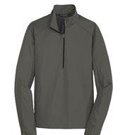 Port  Authority® Mens Active 1/2-Zip Soft Shell Jacket