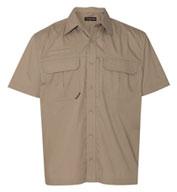 Dri Duck Mens Utility Short Sleeve Ripstop Shirt