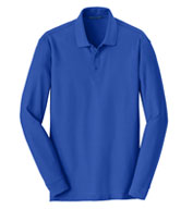 Port Authority® Adult Long Sleeve Core Classic Pique Polo