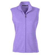 Devon & Jones Ladies Newbury Mélange Fleece Vest