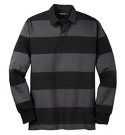 Sport-Tek® Adult Classic Long Sleeve Rugby Polo