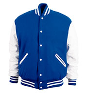 Game Sportswear Adult Varsity Wool Leather Jacket