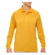 Core365™ Mens Pinnacle Performance Long-Sleeve Polo
