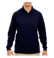 Core365™ Mens Tall Pinnacle Performance Long-Sleeve Polo