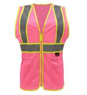 GSS Safety Ladies Economy Two-Tone  Vest
