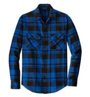 Port Authority® Mens Plaid Flannel Shirt
