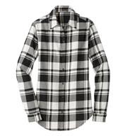 Port Authority® Ladies Plaid Flannel Tunic