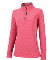 Charles River Womens Bayview Fleece Pullover