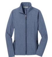 Port Authority® Ladies Heather Core Soft Shell Jacket