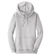 District® Womens Lightweight Fleece Hoodie