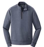 New Era® Mens Tri-Blend Fleece 1/4 Zip Pullover