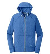 New Era® Mens Sueded Cotton Full-Zip Hoodie