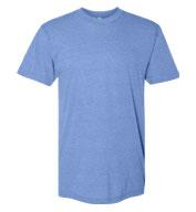 American Apparel Unisex USA Made Triblend Track T-Shirt