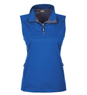 Core365™ Ladies Techno Lite Three-Layer Knit Quarter-Zip Vest