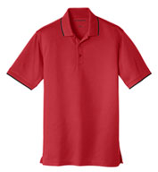 Port Authority® Mens Dry Zone® UV Micro Mesh Tipped Polo