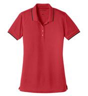 Port Authority® Ladies Dry Zone® UV Micro-Mesh Tipped Polo