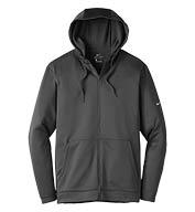 Nike Mens Therma-FIT Full-Zip Fleece Hoodie