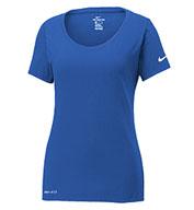 Nike Ladies Dri-FIT Cotton/Poly Tee