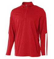 A4 Mens League 1/4 Zip Jacket