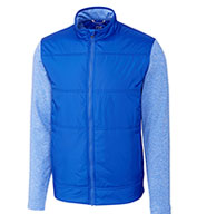 Cutter & Buck Mens Big and Tall Stealth Full Zip Jacket