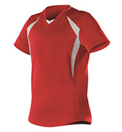 Alleson Womens Short Sleeve Fastpitch Jersey
