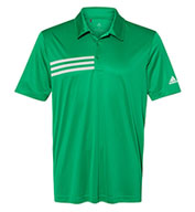 Adidas Mens 3-Stripes Chest Sport Shirt