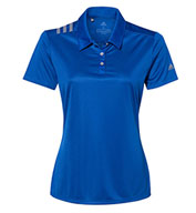 Adidas Womens 3-Stripes Shoulder Sport Shirt