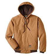 Berne Mens Heritage Cotton Duck Hooded Jacket