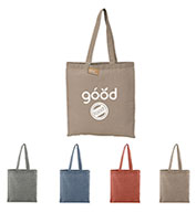 Bullet Recycled 5 oz. Cotton Twill Tote