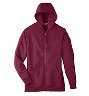 Team 365 Mens Zone HydroSport™ Heavyweight Full-Zip Hooded Sweatshirt