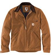 Carhartt® Mens Tall Duck Detroit Jacket