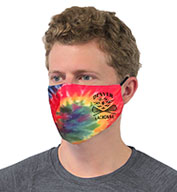 Pennant Adult Tie Dye Performance Face Mask