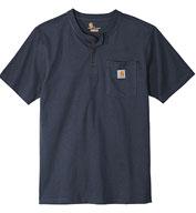 Carhartt® Adult Short Sleeve Henley T-Shirt